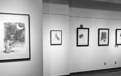 Evoking worlds solo exhibit opening by Maya Hum 2016