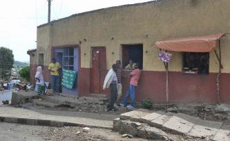 Gondar Rues 01 entree ville