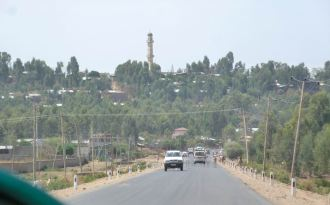 Gondar Rues Lac Tana