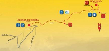 Madere PR1-2 Vereda do Pico Ruivo