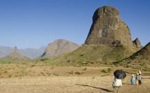Simien 16 mulit environs vue Pitons d'Haweza saison seche