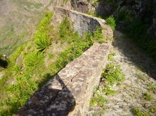 CaboVerde2013-K 49 Ribeira de Penede-Muret pierres jointes