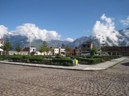 Canyon Colca Cabanaconde place
