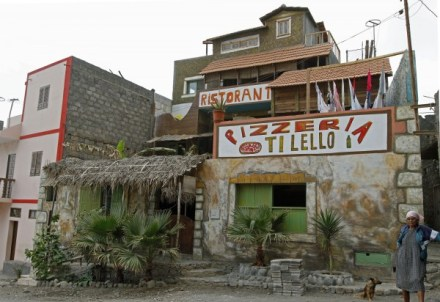 Santo Antao Vila das Pombas Pizzeria Ti Lello