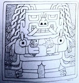 figura 13 Losa Dios Sonriente dessin (1)