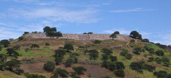 figura 24 Kuntur Wasi plataforma principal del sitio arqueológico
