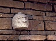 figura 25 Cabeza Clava Chavin 0 in situ