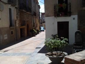 2014-07-12 Ruta dels Refugis (108) Cornudella Fontaine calle ùmajor