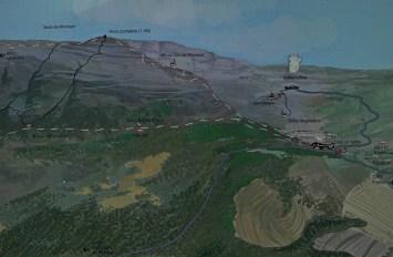2014-07-12 Ruta dels Refugis (91) Albarca panneau descriptif