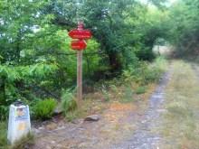Camino Primitivo Mayake 56 descente au barrage