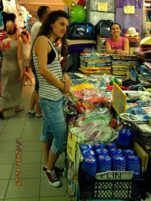 IMG_1665 Podgorica marche couvert gaz bazar