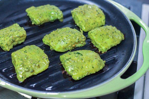 Mint Fish Tikka