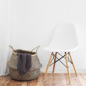 Modern and Minimal Chair and Basket