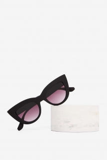 Nasty Gal Black Cat Eye Sunglasses