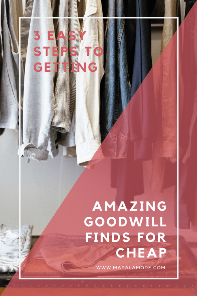 How to Get Amazing Goodwill Finds
