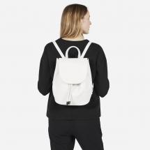 White Everlane Leather Backpack