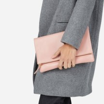 Peach Everlane Clutch Bag