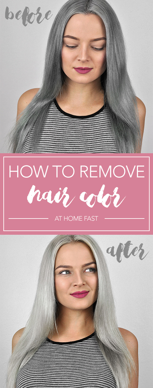 No more expensive salon visits! Follow this easy DIY method to remove hair color at home. Now you can strip hair dye quickly and naturally!