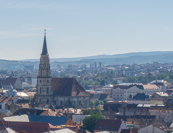 View of Cluj Napoca