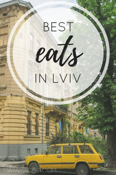 Where to eat in Lviv