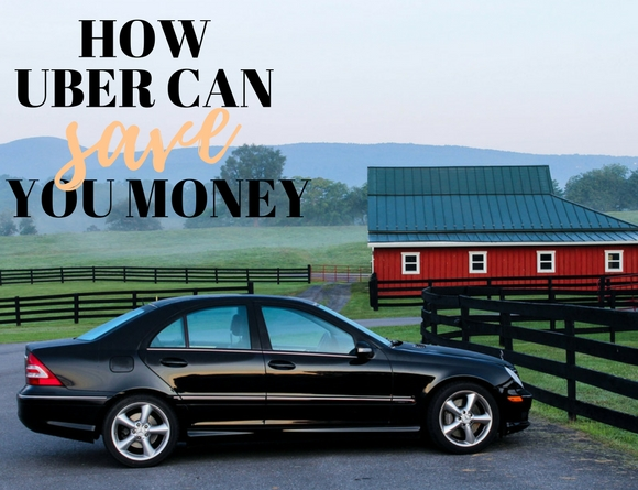 how to save money with uber