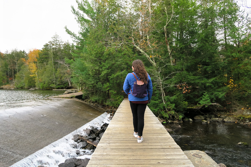 hiking in lake placid