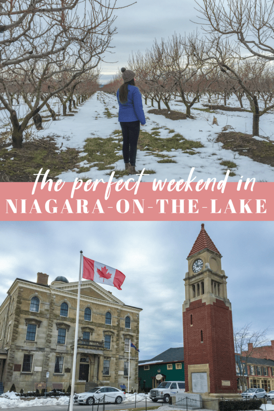 Plan the perfect weekend in Niagara-on-the-Lake by using this travel guide! Find out where to stay and the best things to do in town! #niagara #ontario #canada