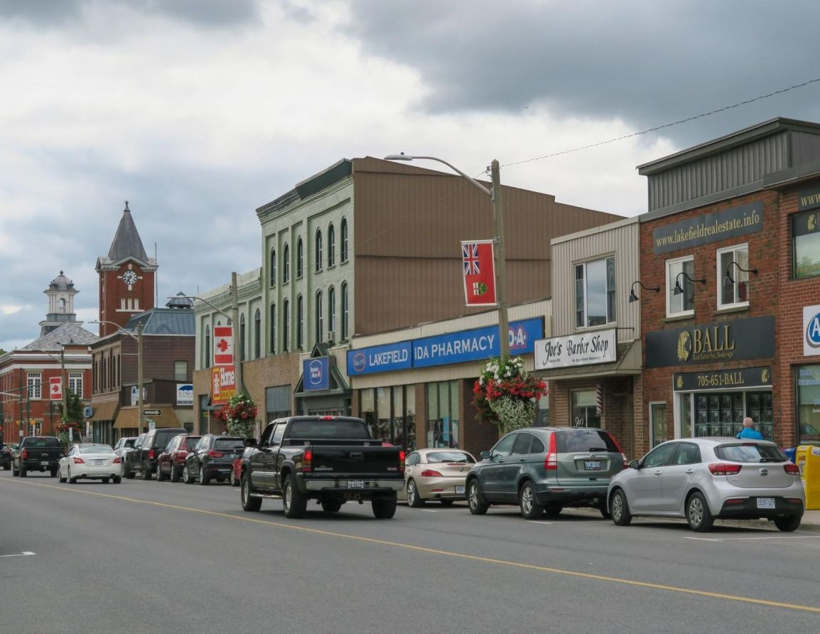 View of Downtown Lakefield