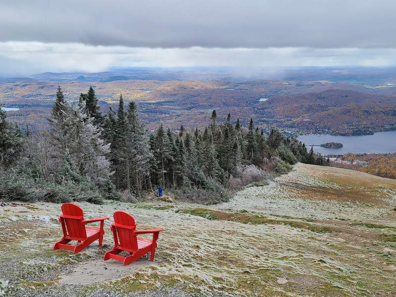 top of tremblant
