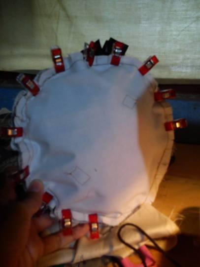 Proses teknik krukupan (selimut)