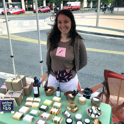 Mayapple Soaps at Columbia Heights Farmers Market