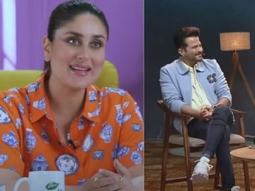 Kareena Kapoor and Anil Kapoor