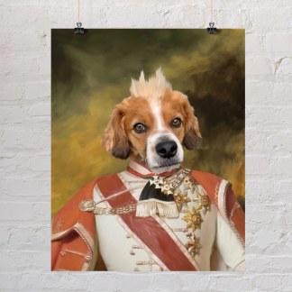 ban josip jelačić portret psa