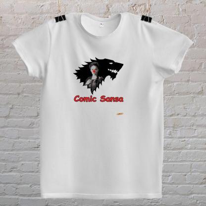 comic sansa koa comic sans font i igra prijestolja