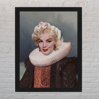 personalizirani portret žene kao kraljice