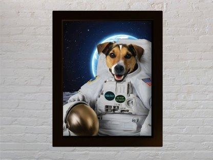 personalizirani portret psa astronauta pastronaut