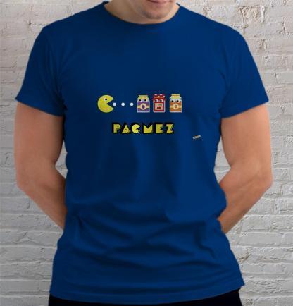 pekmez pacman jede pekmez od sljiva jagoda pekmez od marelice majica mayara plava