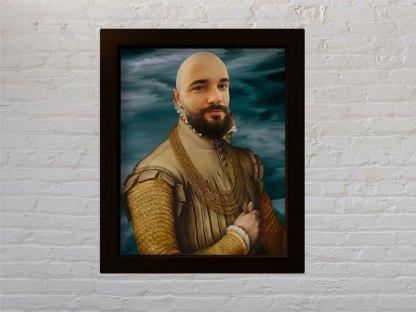 aristokrat stari portret muškarca