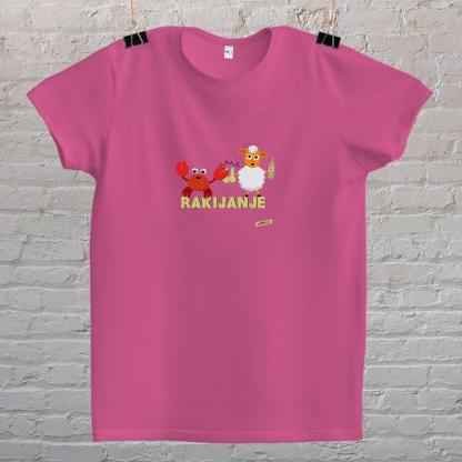 rak i janje piju rakiju rakijanje majica mayara roza