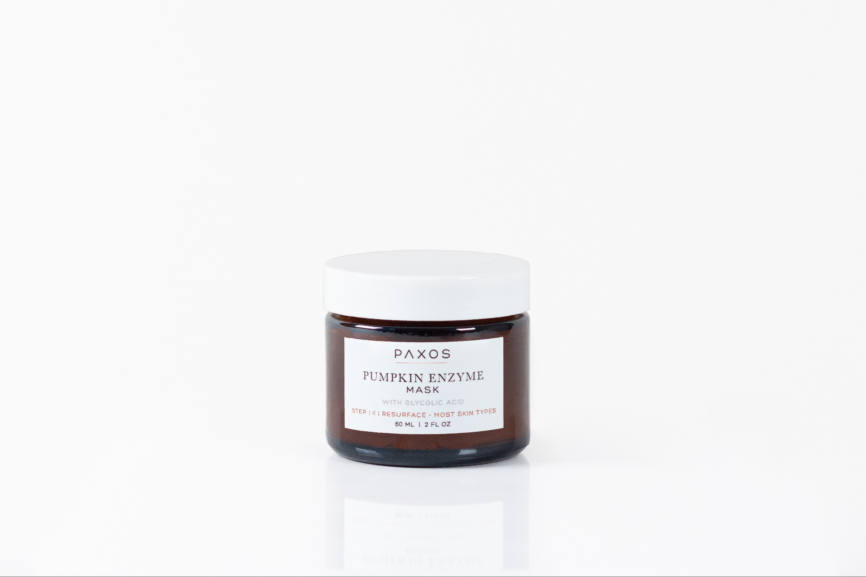 Pumpkin Enzyme face mask ecommerce product on white