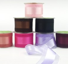 Wide Satin Organza Ribbons
