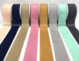 faux silk wrinkled nylon ribbons
