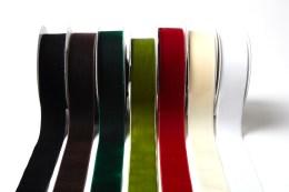PV 1.5″x10y Velvet Woven Ribbon Family