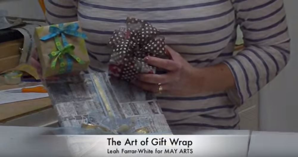 How to Wrap Gifts With Ribbon