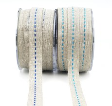 Center Stitch Burlap Ribbons
