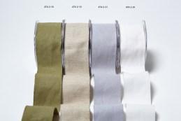 474 2″x10y Burlap/Cotton Ribbon Group