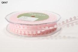 Light Pink Daisy Organza Ribbon