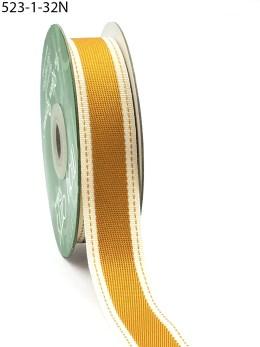 Antique Gold Color Band Cotton Ribbon