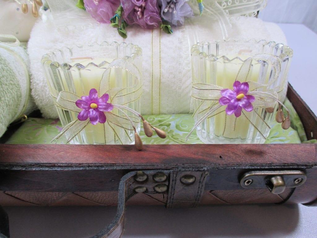 Home Decor: Decorative Trunk Bathroom Accessory Set