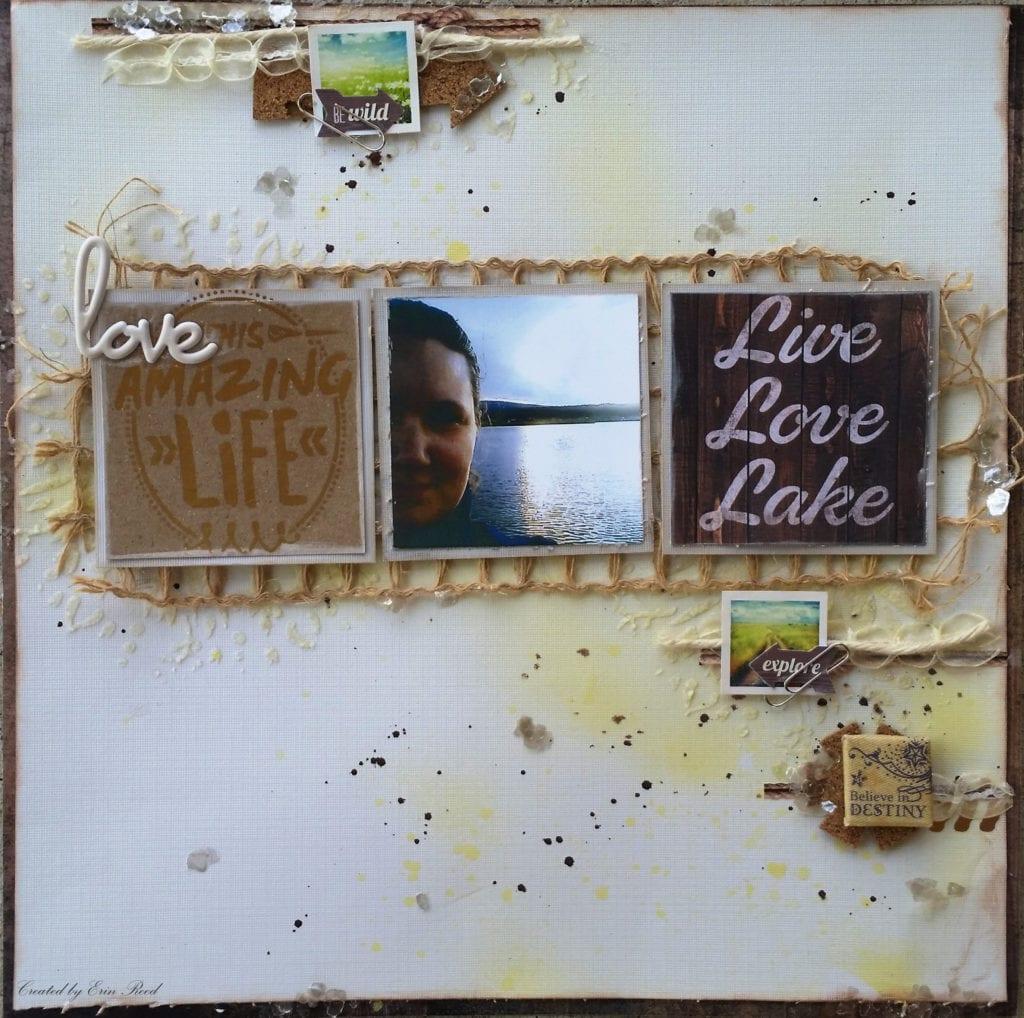 """Live Love Lake"" Layout"